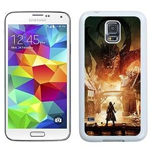 Unique Designed Cover Case For Samsung Galaxy S5 I9600 G900a G900v G900p G900t G900w With Ah Hobbit The Battle Five Armies Art Poster (2) Phone Case
