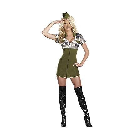 Alexa Genral Lee Hot - Traje militar para mujer, talla ...