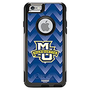 Coveroo Cell Phone Case for iPhone 6 - Retail Packaging - Black/Marquette Designs