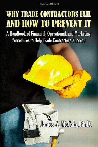 Why Trade Contractors Fail and How to Prevent It pdf epub