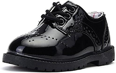 안 디 보 어린이 복장 신발 소년 소녀 멜 미끄럼 아이 포 멀 슈즈 입학 식 졸업식 퇴원 식 결혼식 법 LKC1 / Jacuzzi Shibo Kids Formal Shoes Boys Girls` Enamel Non-Slip Kids Formal Shoes Entrance Ceremony Graduation Graduation Ceremony We...