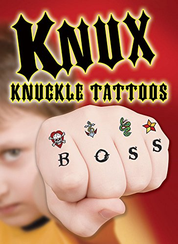 (KNUX -- Cool Knuckle Tattoos (Dover Little Activity Books) )