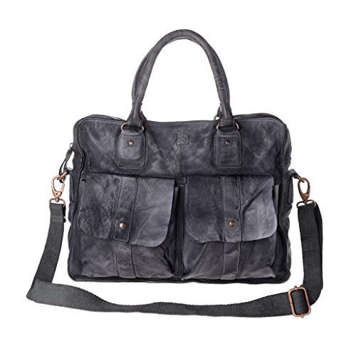Dudu - Sac porté épaule - 580-1098 Timeless - Bag - Noir Slate - Femme