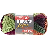 Bernat Softee Chunky Ombre Yarn, 3.5 Ounce, Harvest by Spinrite