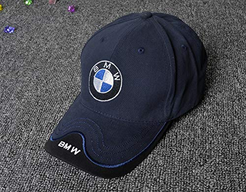 Carhome01 Car Logo Motor Hat Embroidered Black Racing F1 Baseball Caps for BMW Accessories