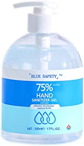 Hand Sanitizer Gel, Speed Dry Refreshing Moisturizing Hand Soap, Disposable Hand sanitizer, Gentle Hydrating Non-irritating, Pump Bottle (500ML)