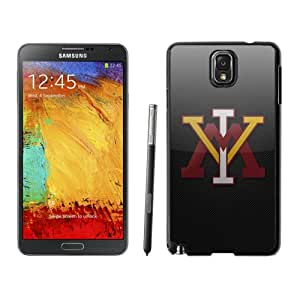 Fashionable And Unique Custom Designed With NCAA Big South Conference VMI Keydets 3 Protective Cell Phone Hardshell Cover Case For Samsung Galaxy Note 3 N900A N900V N900P N900T Black