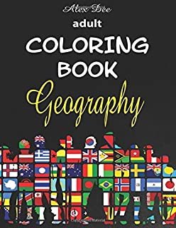 Swift Walker: World Geography Coloring Book: Coloring Books for Kids ...
