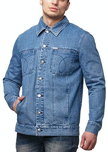 Blue Denim Jacket Men - Jean Jacket for Men Classic Trucker - Chaquetas De Hombre