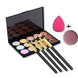 Best Contour Brush For Powder Creams - U-beauty(TM) 15 Colors Contour Face Cream Makeup Concealer Review