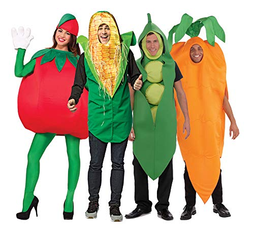 Adult Vegetable Group Costume Set]()