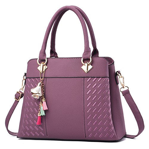 Womens Purses and Handbags Ladies Designer Satchel Tote Bag Shoulder Bags by PINCNEL