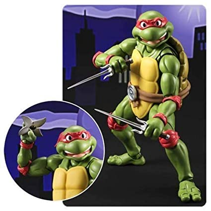 Amazon.com: Teenage Mutant Ninja Turtles Raphael SH Figuarts ...