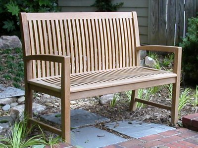 Atlanta Teak Furniture   Teak Bench   60u0026quot; ...