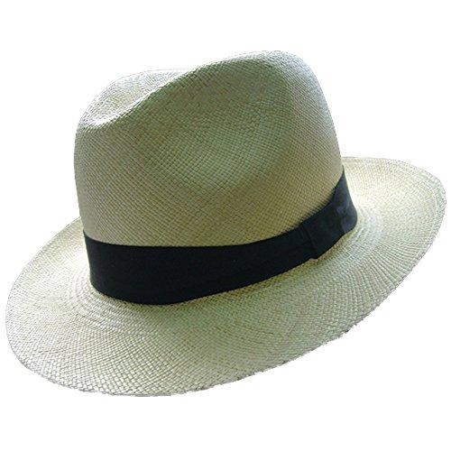 Gamboa Genuine Unisex Panama Hat Gardeening Borsalino Straw Hat