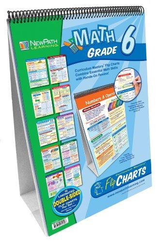 NewPath Learning Math Curriculum Mastery Flip Chart Set, Grade - Flip Chart Math
