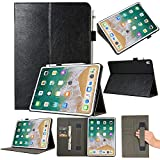 Tuff-luv Faux Leather Smart Cover & Stand Hand Grip & Pen Holder for iPad Pro 11