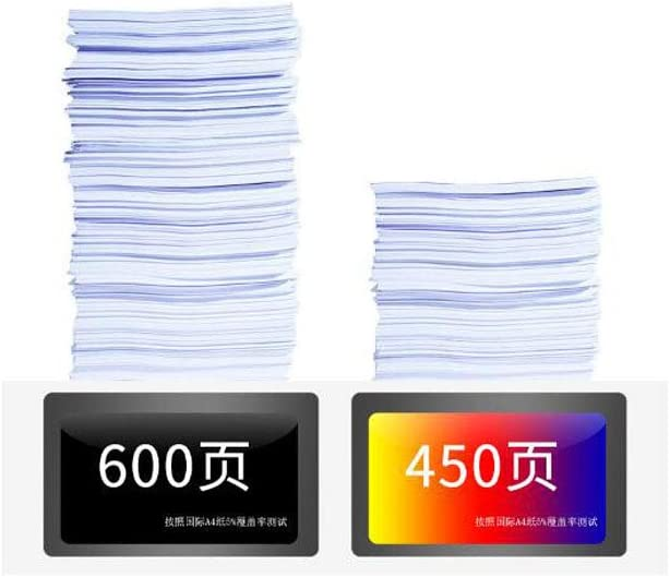62XL Ink Cartridge C2P05A C2P07A Compatible Ink Cartridge for 200 258 5540 5542 5640 Printers-Black+Tricolor EP /& Large Capacity