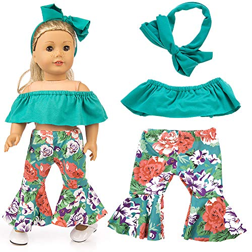 Livoty Doll Clothes Outfits Set Kids Toy Shirt Pants for sale  Delivered anywhere in USA