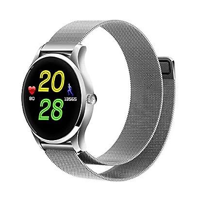Deporte Reloj de Pulsera Bluetooth Relojes Fitness smartwatch, Corriendo Modo, Alarmas, Notificaciones de