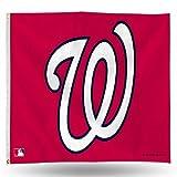 MLB Washington Nationals 3-Foot by 5-Foot Banner Flag