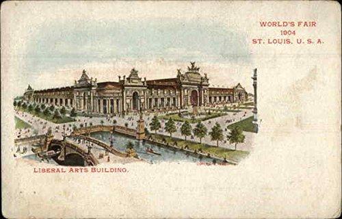 Liberal Arts Building 1904 St Louis Worlds Fair Original Vintage Postcard by CardCow Vintage Postcards