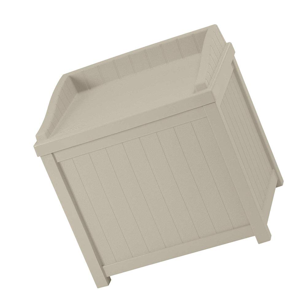 Patio Storage Cabinet Coffee Table 22 Gallon Storage Box Waterproof Durable & Seat for Indoor Outdoor Garden Backyard Home Furniture Container Weather Resistance & e-Book by jn.widetrade.