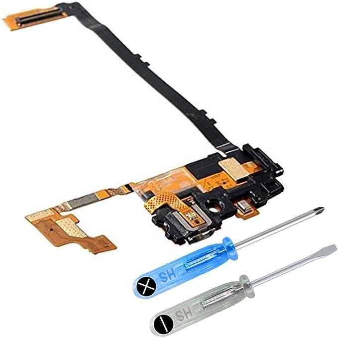 MMOBIEL Conector Dock Cargador Compatible con LG Nexus 5 D820 de Repuesto. Puerto Micro USB Cable Flex con Adhesivo. Incluye Dos Destornilladores y ...