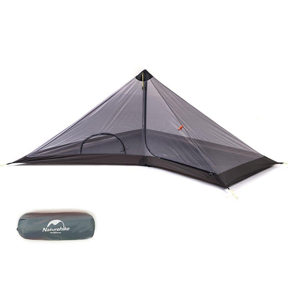 Naturehike 3 Saison Outdoor Ultraleicht 1 Person Pyramide Zelt f/ür Camping Wandern Klettern