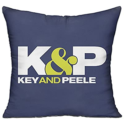 Key And Peele Comedy Series 18'' X 18'' Decorative Square Throw Pillow Cover With Pillow Inner