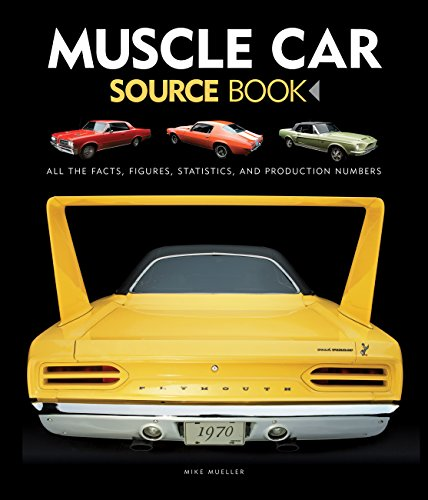Muscle Car Source Book: All the Facts, Figures, Statistics, and Production Numbers (1970 Dodge Charger 426 Hemi For Sale)