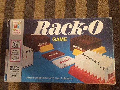 (1975 Berne & Universal Milton Bradley Company MB Rack-O Game #4765)