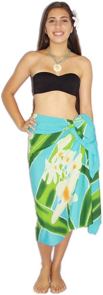 Pareo Island Womens Tropical Flower Sarong