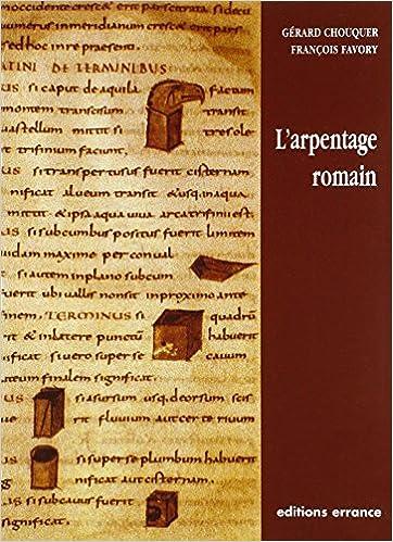Télécharger L'arpentage romain livres gratuits en ligne