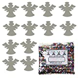 Confetti Angel w/Halo Silver - Half Pound Bag (8 oz) - (CCP9546-08A)