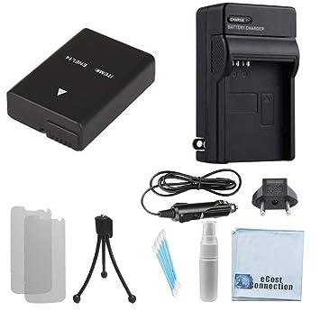 Amazon.com: EN-EL14 Batería de alta capacidad + Car/cargador ...