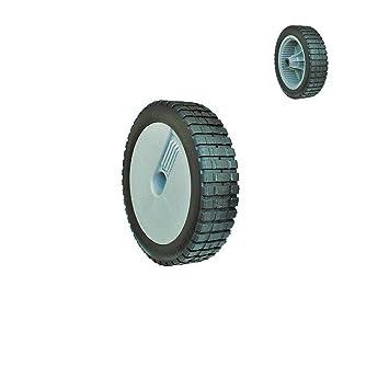 8 Inch 22 cm diámetro rueda de goma para Weeder cortador de hierba Cortacésped con ruedas (2 pcs: Amazon.es: Coche y moto