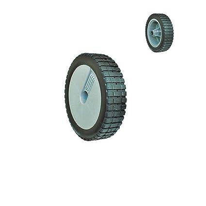 8 Inch 22 cm diámetro rueda de goma para Weeder cortador de ...