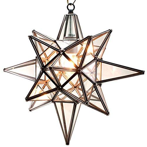 Tin Star Pendant Light in Florida - 8