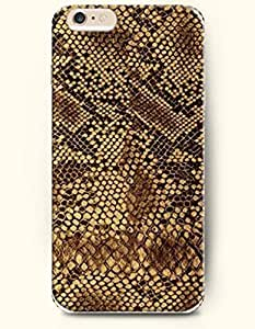 Black And Brown Serpentine Grain - Snake Skin Print - Phone Cover for Apple iPhone 6 Plus ( 5.5 inches ) - SevenArc ...
