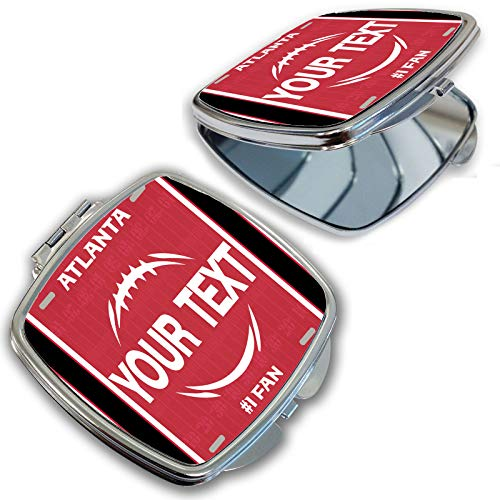 BRGiftShop Customize Your Own Football Team Atlanta Compact Pocket Cosmetic -