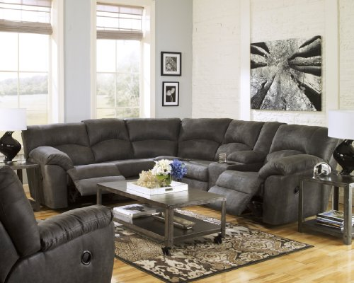 Ashley Tambo 27801-48-49 Sectional Sofa with Left and Rig...