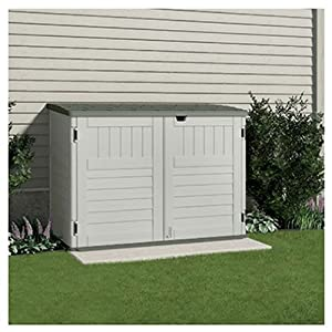 Suncast BMS4700 The Stow-Away Horizontal Storage Shed, (70-cubic Feet) from Suncast