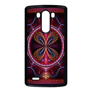 LG G3 Cell Phone Case Black 3D Abstract Ring E5S8UY