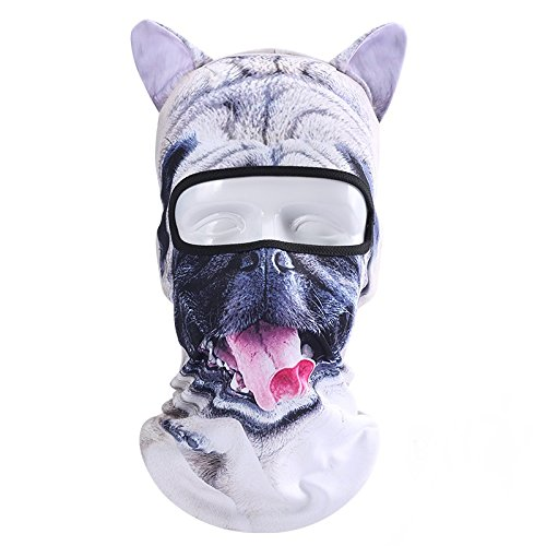 Costume Alpinestars (Besplore Balaclava Ski Mask, Face Mask Winter Motorcycle Balaclava Hood Outdoor Spor Costume-Dog-07)