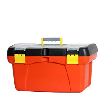 caja de herramientas completa Reparación Caja de herramientas Plástico portátil Caja grande de almacenamiento de automóviles Caja de electricista Hardware Taladro de impacto Caja de inicio Toolbox: Amazon.es: Bricolaje y herramientas