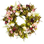 Emlyn-Door-Wreath-Silk-Rose-Heads-Pink-Flower-Wreath-157-Best-Seller-Handmade-Wreath-for-Outdoor-Display-in-Fall-Winter-Spring-and-Summer-