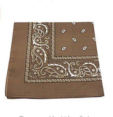 Arpoador Trend Bike foulard uomini e donne esterni foulard cotone quadrato copricapo White