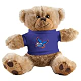 New Paltz Plush Big Paw 8 1/2 inch Brown Bear w/Royal Shirt 'Official Logo'