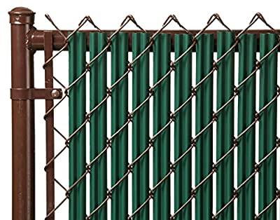 3ft Green Ridged Slats® for Chain Link Fence
